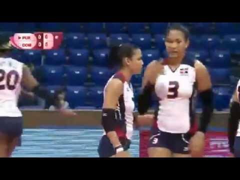 Puerto Rico vs Dominican Republic   Semifinals   Group 2   2016 FIVB World Grand Prix