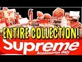 EVERY SUPREME ACCESSORY EVER RELEASED 3 MILLION DOLLAR SUPREME COLLECTION