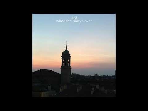 Billie Eilish - when the party's over | 4rif Rendition