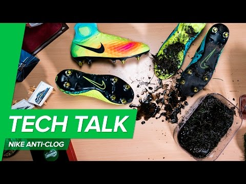 c4f6d9e15dc4 Nike Anti Clog Tech Talk w/Unisport | Magista 2, Hypervenom 2 and Tiempo 6  with no mud technology - YouTube