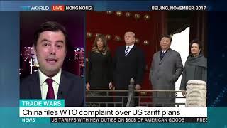 China retaliates with own tariffs on US goods