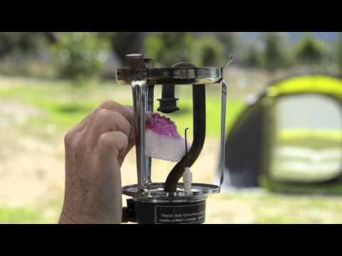 Changing A Mantle On Gas Lantern, Gas Lamp Mantles