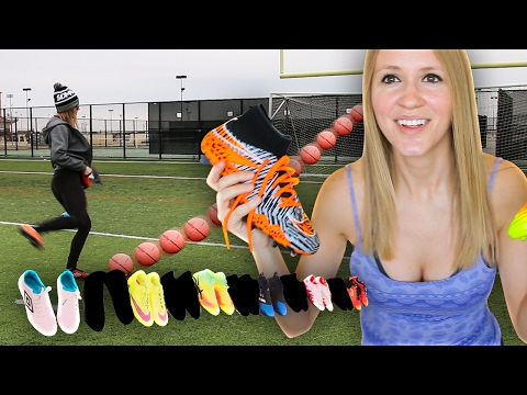 MY EPIC BOOT COLLECTION VIDEO !! ( CLEAT COLLECTION)
