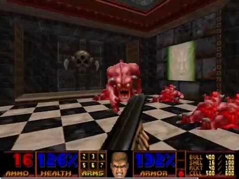 [Doom 2] Hell Ground 100% Speedrun Movie - UV-max in 1:13:42