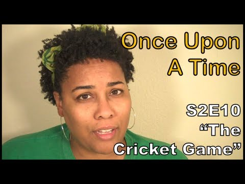 """Once Upon A Time S2E10 """"The Cricket Game"""" Review OUAT 2X10 ..."""