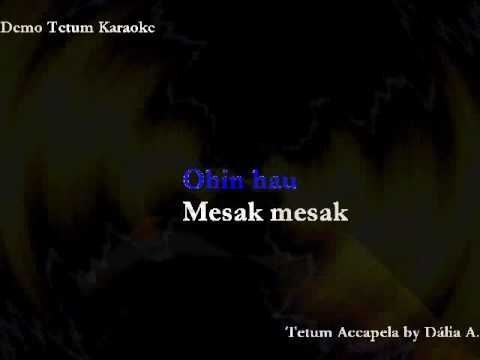 Tetum Timor Demo Karaoke