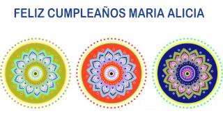 MariaAlicia   Indian Designs - Happy Birthday