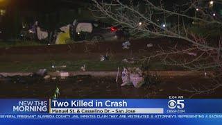 2 Dead In Overnight Crash In San Jose