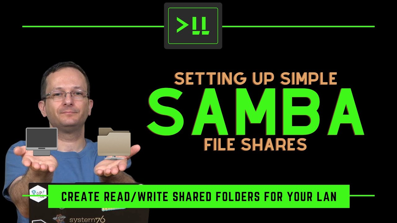 Setting up Simple Samba File Shares