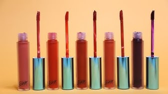 BIYW Review Chapter: #5 BBIA LAST VELVET LIP TINT VERSION 1 SWATCH & REVIEW