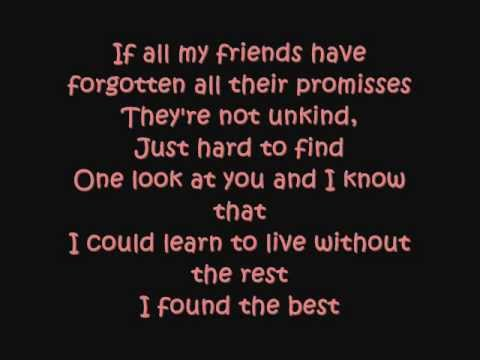 I Won't Last A Day Without You LYRICS by - Sarah Geronimo .wmv