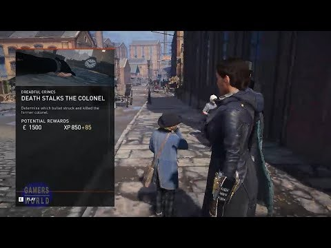 Assassin's Creed Syndicate ||  London Stories || The Dreadful Crimes || Death Stalks The Colonel ||