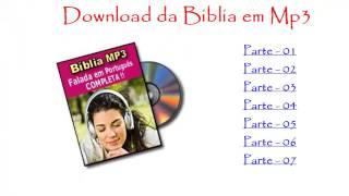 Como Baixar a Bíblia em Mp3