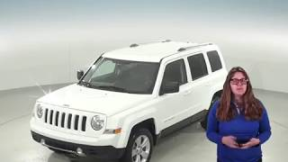 G95644NC - Used, 2014, Jeep Patriot, Limited, 4WD, White, Test Drive, Review, For Sale -