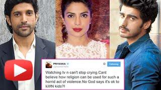 Priyanka Chopra, Arjun Kapoor, Farhan Akhtar : Tweet About Peshawar School Attack