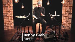 MEINL Percussion Studio Session - Benny Greb - Part 4