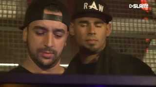 Afrojack b2b D-Wayne & Apster (DJ-set) at SLAM! MixMarathon live from ADE