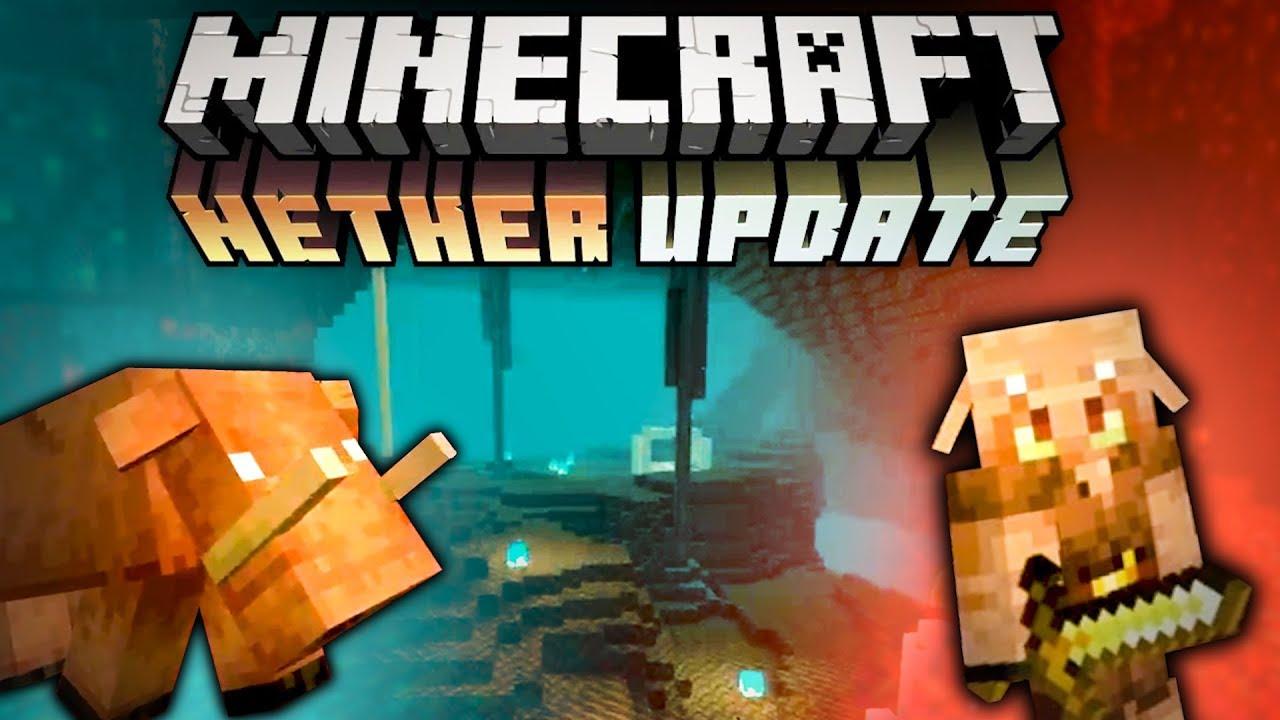 Minecraft 1 16 La Nether Update R 233 Sum 233 Minecon 2019