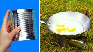 36 EXTREMELY CLEVER CAMPING HACKS