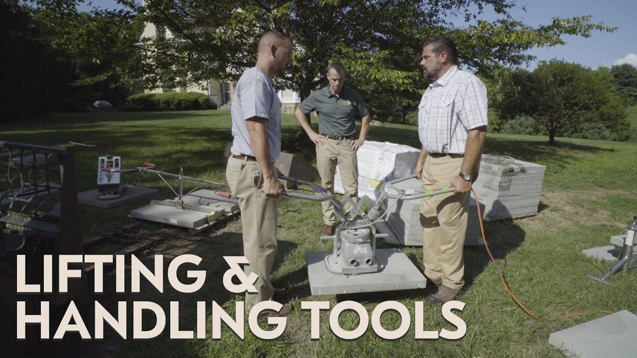 Slab Installation Lifting And Handling Tools Youtube