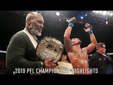 2019 PFL Championship Full Fight Highlights | Professional Fighters League 2019