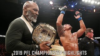2019 PFL Championship Full Fight Highlights   Professional Fighters League 2019