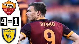 Roma vs Chievo 4-1 All Goals & Highlights 28/04/2018 HD