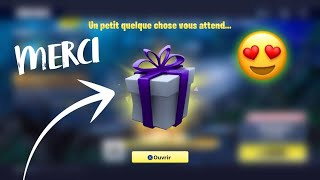 FORTNITE AM OFFER THE MORE GREAT CADEAU OF GAME PACK OPENING IN VIDEO OMGGGG!!!!