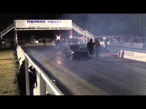 Street Outlaws Murder Nova Twin-Turbo testing   Thundervalley