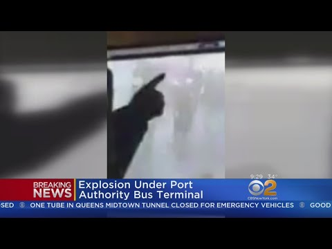 Surveillance Video Shows Moment Of Bombing