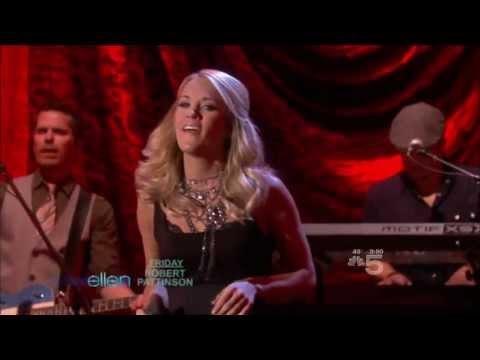 Carrie Underwood ,HD,   Cowboy Casanova ,Live Ellen 2009, HD  1080p