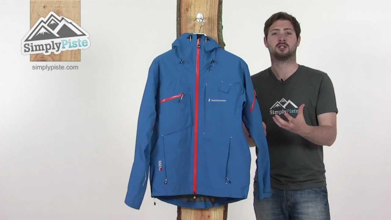 sports shoes acd77 12424 Peak Performance Mens Heli Alpine Jacket - www.simplypiste.com