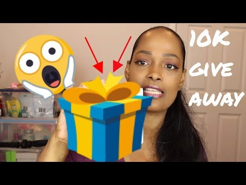 10K Subscriber Giveaway   Giveaway has ended!