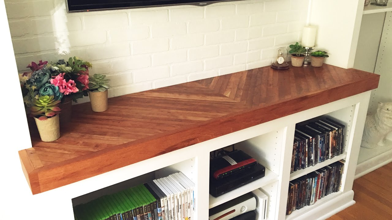 Diy Wooden Countertop