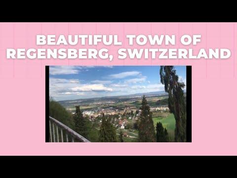 Beautiful Town Of Regensberg, Switzerland