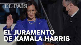 EE UU  | El juramento de #KamalaHarris como vicepresidenta