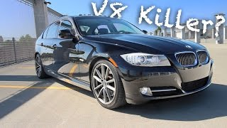 V8 killer? 400hp bmw 335i review!