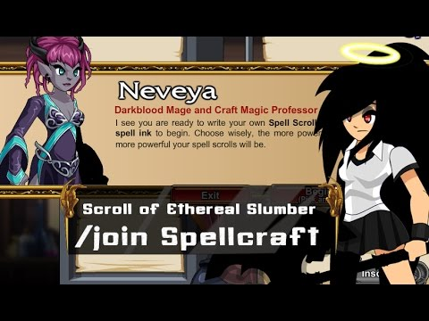 =AQW= How to Make Scroll of Ethereal Slumber