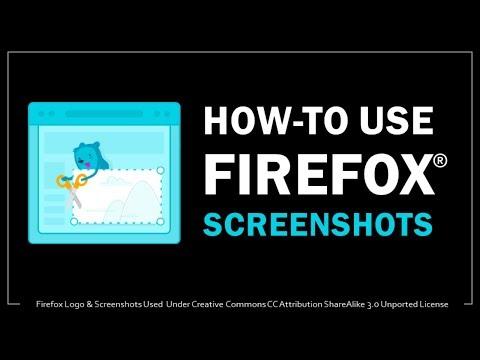 How to Use Firefox Screenshots