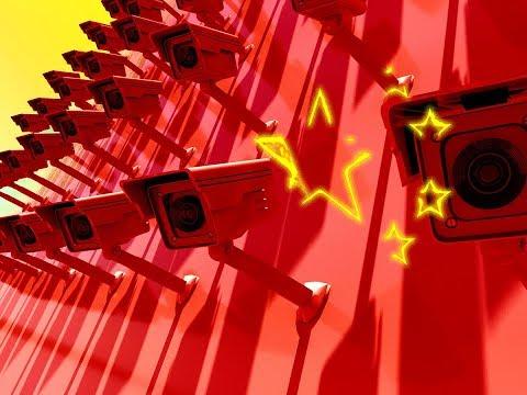 Social Media Post: Schwarze Listen in China. Künstliche Intelligenz (KI) im Einsatz...
