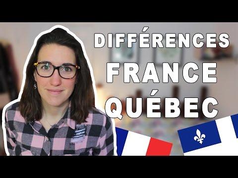 DES DIFFÉRENCES ENTRE LA FRANCE ET LE QUÉBEC | CAM c'est elle