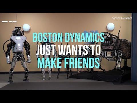 Meet Boston Dynamics family of robots