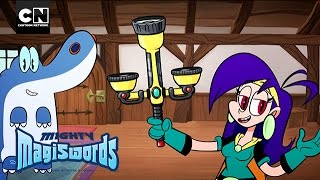 Mighty Magiswords | Flashlight Magisword Vlog | Cartoon Network