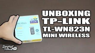 Unboxing TP-LINK TL-WN823N Mini USB WiFi - 300Mbps Wireless Adapter   Membuka Kotak