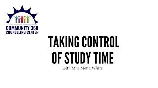 Finding and Taking Control of Your Study Time