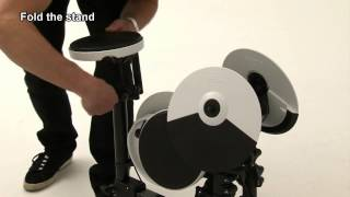 Roland V-Drums Portable TD-4KP ― Fold, Pack up and Go
