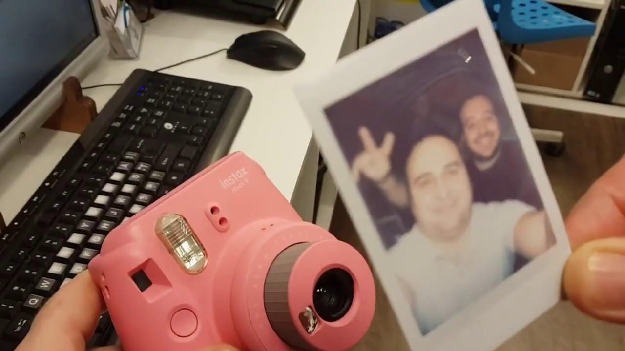 Aparat foto Instant Instax 9 de la Fujifil - cum il folosesti - scurt ghid
