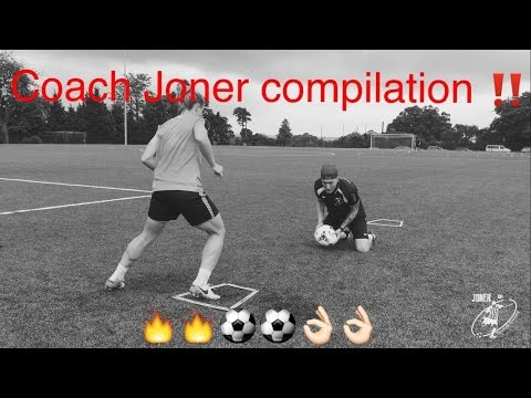 The best of Coach Joner - LOADS OF SOCCER DRILLS with some big names in Australia - JONER 1ON1