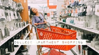 COLLEGE APARTMENT SHOP WITH ME!
