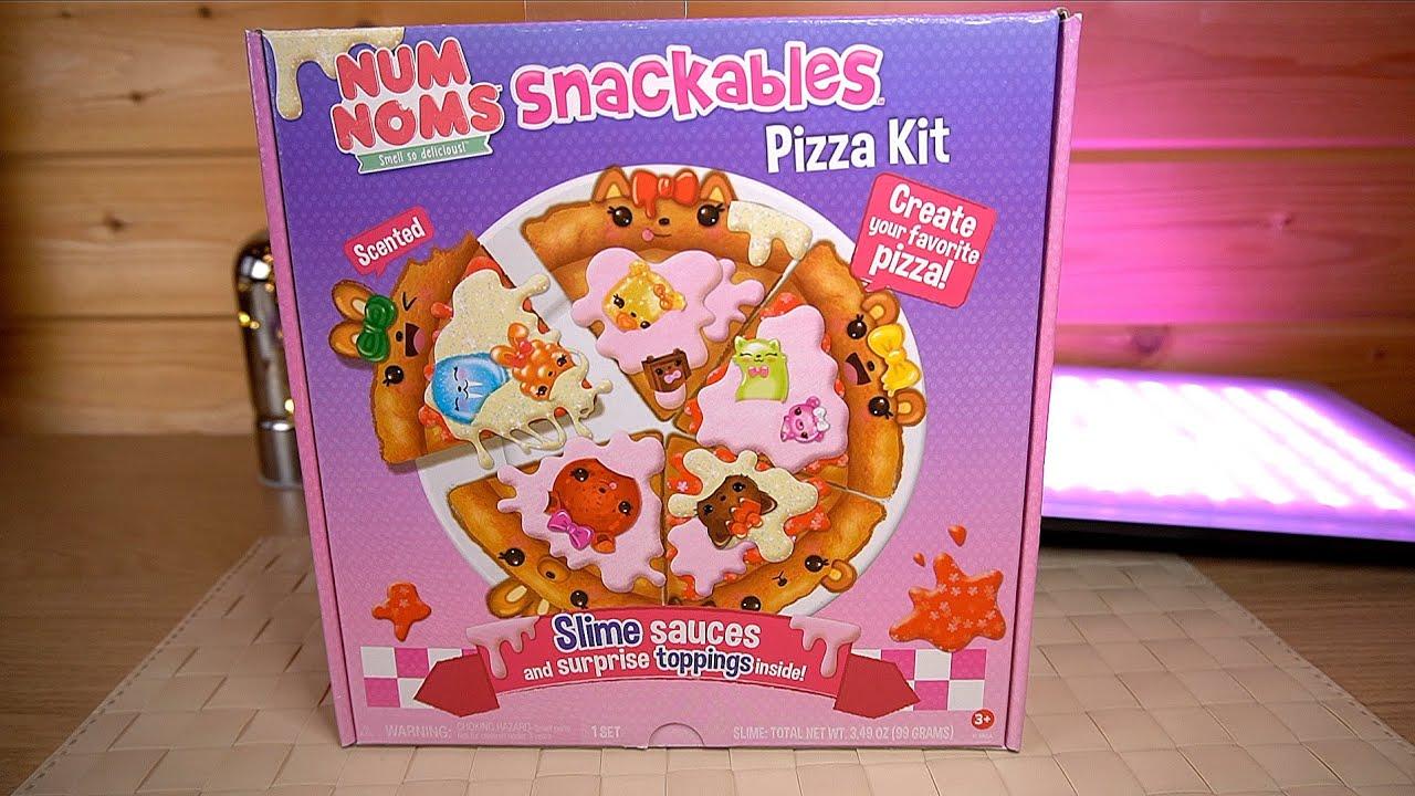 Живая Пицца Сладкая Которую Нельзя Есть Num Noms Snackables Pizza Slime Surprises